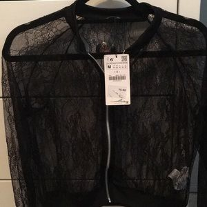 Zara lace jacket
